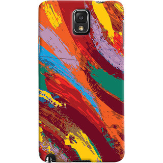 ColourCrust Samsung Galaxy Note 3 Mobile Phone Back Cover With Colourful Pattern Style - Durable Matte Finish Hard Plastic Slim Case