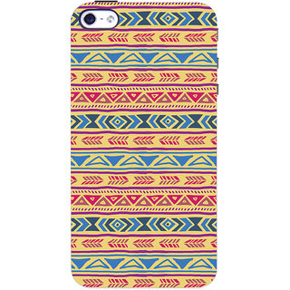 ColourCrust Apple iPhone 4S Mobile Phone Back Cover With Indian Pattern - Durable Matte Finish Hard Plastic Slim Case