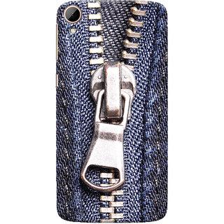 ColourCrust HTC Desire 828 / Dual Sim Mobile Phone Back Cover With Denim Look - Durable Matte Finish Hard Plastic Slim Case