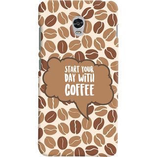 ColourCrust Lenovo Vibe P1 Mobile Phone Back Cover With Coffee Beans Pattern Style - Durable Matte Finish Hard Plastic Slim Case