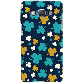 ColourCrust Samsung Galaxy A7 (2015) Mobile Phone Back Cover With Floral Pattern - Durable Matte Finish Hard Plastic Slim Case