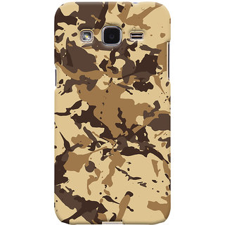 ColourCrust Samsung Galaxy J2 Mobile Phone Back Cover With Millitary Pattern Style - Durable Matte Finish Hard Plastic Slim Case