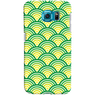 ColourCrust Samsung Galaxy S6 Mobile Phone Back Cover With Pattern Style - Durable Matte Finish Hard Plastic Slim Case