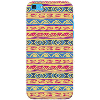 ColourCrust Apple iPhone 5S Mobile Phone Back Cover With Indian Pattern - Durable Matte Finish Hard Plastic Slim Case