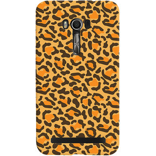 ColourCrust Asus Zenfone Go Mobile Phone Back Cover With Animal Print - Durable Matte Finish Hard Plastic Slim Case