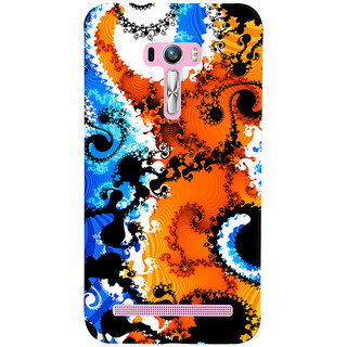 ColourCrust Asus Zenfone Selfie ZD551KL Mobile Phone Back Cover With Colourful Art Pattern Style - Durable Matte Finish Hard Plastic Slim Case