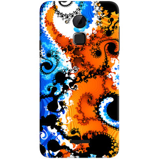 ColourCrust Coolpad Note 3 Lite Mobile Phone Back Cover With Colourful Art Pattern Style - Durable Matte Finish Hard Plastic Slim Case