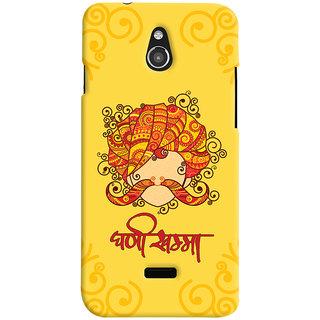 ColourCrust Infocus M2 Mobile Phone Back Cover With Ghani Khamma Rajasthani Style - Durable Matte Finish Hard Plastic Slim Case