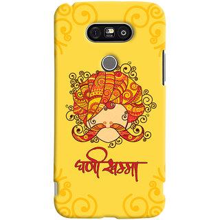 ColourCrust LG G5 / Optimus G5 Mobile Phone Back Cover With Ghani Khamma Rajasthani Style - Durable Matte Finish Hard Plastic Slim Case