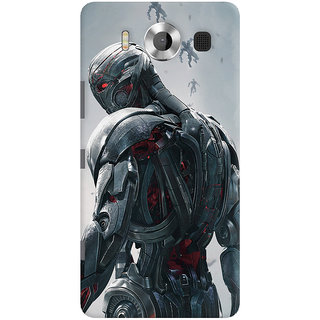 ColourCrust Microsoft Lumia 950 Mobile Phone Back Cover With Ultron Back - Durable Matte Finish Hard Plastic Slim Case