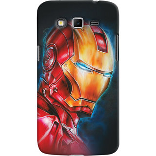 ColourCrust Samsung Galaxy Grand 2 G7106 Mobile Phone Back Cover With Iron Man - Durable Matte Finish Hard Plastic Slim Case