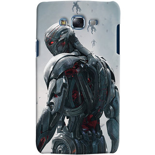 ColourCrust Samsung Galaxy J5 Mobile Phone Back Cover With Ultron Back - Durable Matte Finish Hard Plastic Slim Case