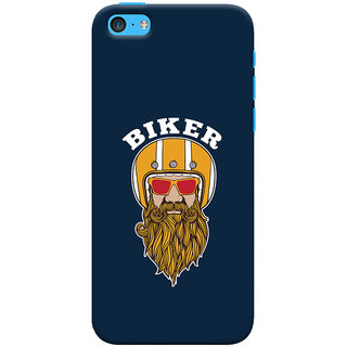 ColourCrust Apple iPhone 5S Mobile Phone Back Cover With Riders Style - Durable Matte Finish Hard Plastic Slim Case