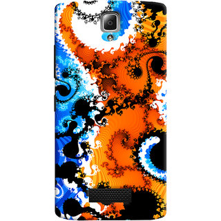 ColourCrust Lenovo A2010 Mobile Phone Back Cover With Colourful Art Pattern Style - Durable Matte Finish Hard Plastic Slim Case
