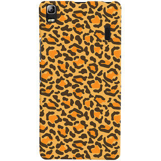 ColourCrust Lenovo K3 Note / A7000 Turbo Mobile Phone Back Cover With Animal Print - Durable Matte Finish Hard Plastic Slim Case