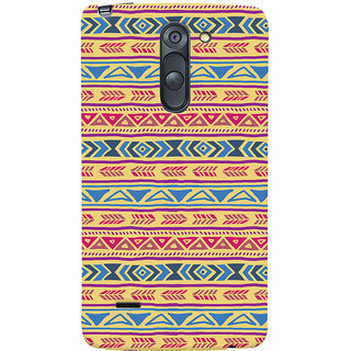 ColourCrust LG G3 Stylus / Optimus G3 Stylus Mobile Phone Back Cover With Indian Pattern - Durable Matte Finish Hard Plastic Slim Case