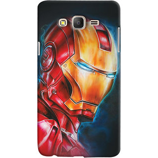 ColourCrust Samsung Galaxy ON5 Mobile Phone Back Cover With Iron Man - Durable Matte Finish Hard Plastic Slim Case