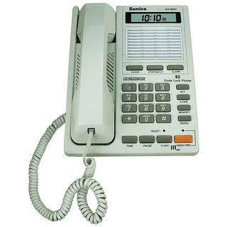41 Memory Two Way Speaker Phone with Clock