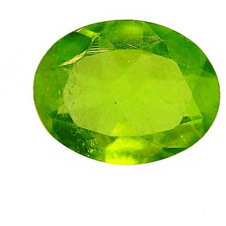 Peridot 6 Ratti Lab Certified Natural Gemstone