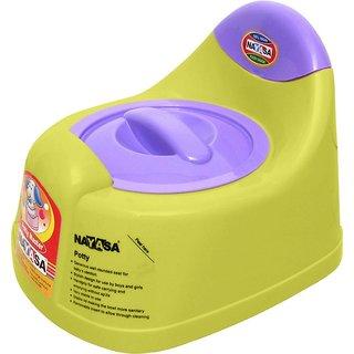 Nayasa Gold Dust Baby Traning Lid Potty Seat (Yellow)