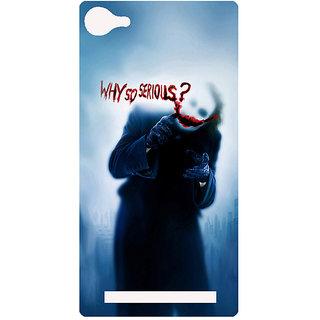 Amagav Printed Back Case Cover for Lava A76
