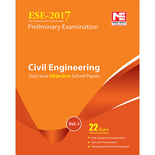 ESE 2017 Preliminary Exam  Civil Engineering Objective Paper - Volume I