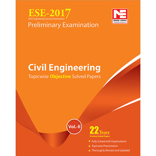 ESE 2017 Preliminary Exam. Civil Engineering Objective Paper - Volume II