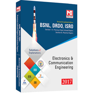 BSNL DRDO ISRO  Electronics Engineering  Previous Solved Papers- 2017 By Made Easy Publications (English, paper Back)