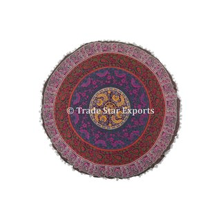 Indian Mandala Floor Pillow Cases 32 Tapestry Meditation Cushions with Insert