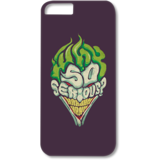 Iphone4-4s Designer Hard-Plastic Phone Cover from Print Opera - So Serious