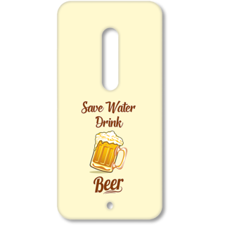 MOTO X Play Designer Hard-Plastic Phone Cover from Print Opera - Save Water Drink Beer