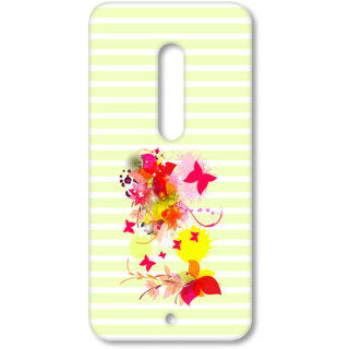 MOTO X Play Designer Hard-Plastic Phone Cover from Print Opera - Pink Floral
