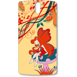 ONE PLUS ONE Designer Hard-Plastic Phone Cover from Print Opera - Queen
