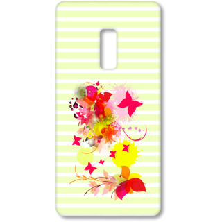 ONE PLUS Two Designer Hard-Plastic Phone Cover from Print Opera - Pink Floral
