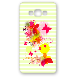 SAMSUNG GALAXY A8 Designer Hard-Plastic Phone Cover from Print Opera - Pink Floral