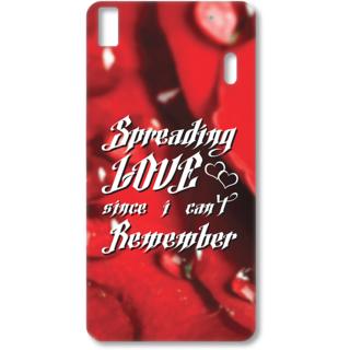 Lenovo K3 Note Designer Hard-Plastic Phone Cover from Print Opera - Spreading Love