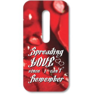 MOTO G3 Designer Hard-Plastic Phone Cover from Print Opera - Spreading Love