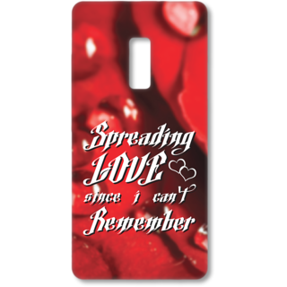 ONE PLUS Two Designer Hard-Plastic Phone Cover from Print Opera - Spreading Love