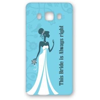 SAMSUNG GALAXY J5 Designer Hard-Plastic Phone Cover from Print Opera - Bride