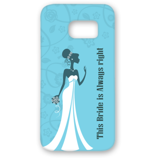 SAMSUNG GALAXY S7 Edge Designer Hard-Plastic Phone Cover from Print Opera - Bride