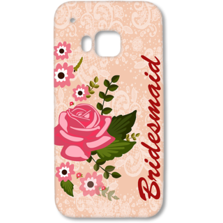 HTC One M9 Designer Hard-Plastic Phone Cover from Print Opera - Bridesmaid