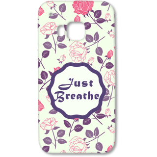 HTC One M9 Designer Hard-Plastic Phone Cover from Print Opera - Just Breathe