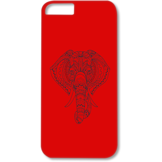 Iphone4-4s Designer Hard-Plastic Phone Cover from Print Opera - Artistic Elephant
