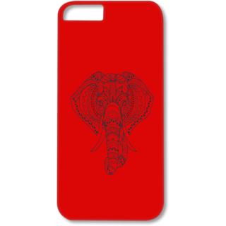 Iphone5-5s Designer Hard-Plastic Phone Cover from Print Opera - Artistic Elephant