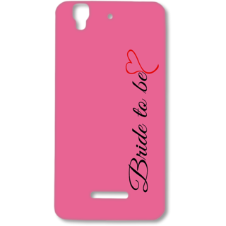 MICROMAX YUREKA Designer Hard-Plastic Phone Cover from Print Opera - Bride To Be