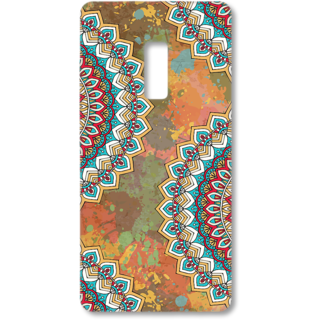 ONE PLUS Two Designer Hard-Plastic Phone Cover from Print Opera - Vintage Round Floral