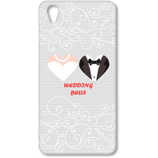 ONE PLUS X Designer Hard-Plastic Phone Cover from Print Opera - Wedding Bells