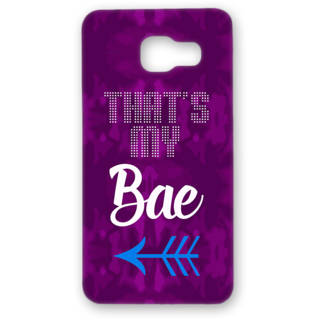 SAMSUNG GALAXY A5 Designer Hard-Plastic Phone Cover from Print Opera - Thats my Bae
