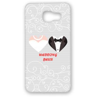 SAMSUNG GALAXY A5 Designer Hard-Plastic Phone Cover from Print Opera - Wedding Bells