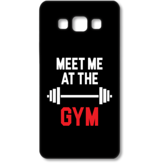 SAMSUNG GALAXY A7 Designer Hard-Plastic Phone Cover from Print Opera - Meet me at the Gym